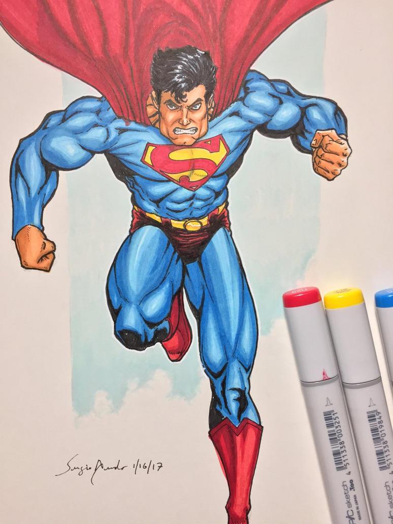 Superman by amonkeyonacid
