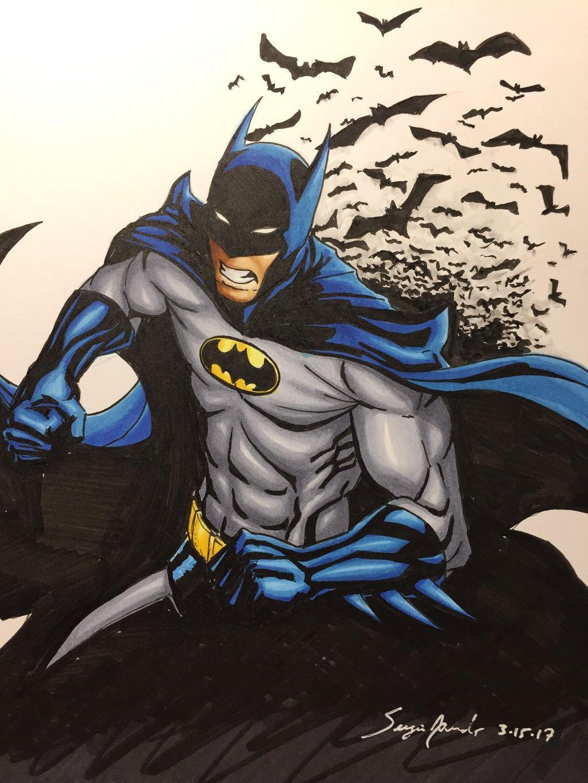 Batman by amonkeyonacid