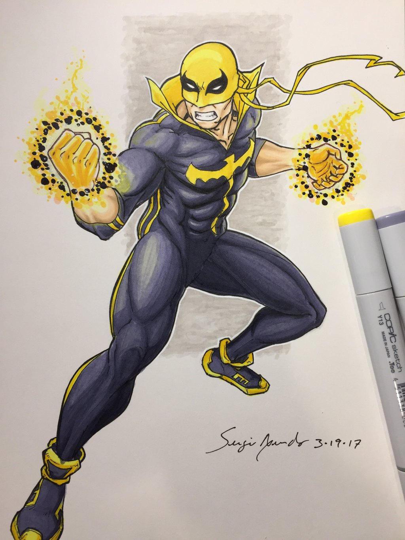 Iron Fist by amonkeyonacid