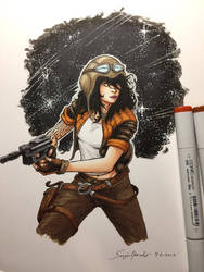 Doctor Aphra by amonkeyonacid