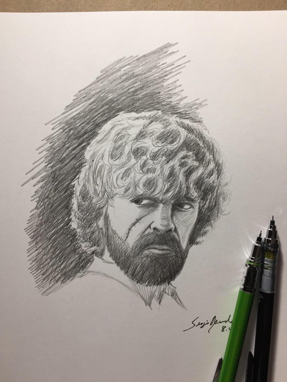 Tyrion Lannister sketch by amonkeyonacid
