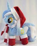 MLP Lyra Plush Christmas by Ponypassions