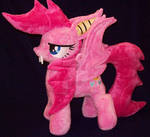 SOLD  PinkieBat Plush By Ponypassions