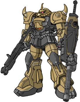 Desert Gouf Weapons by RedZaku