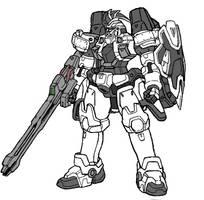 OZ-00MS3 Tallgeese IV by RedZaku