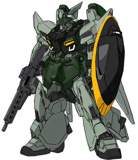 ZGMF-1014 Gelgoog with weapons by RedZaku
