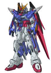 ZMGF-X42SN New Destiny Gundam by RedZaku