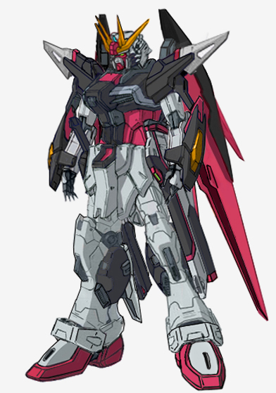 New Destiny Gundam Shinn Asuka Colors by RedZaku