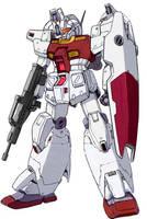 RGM-79N-Fb GM Custom High Mobility Type w/ Weapons by RedZaku