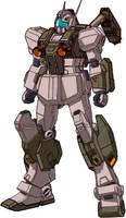 RGM-86RV GM III Semi-Seeker by RedZaku