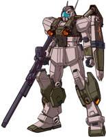 RGM-86RV GM III Semi-Seeker w/Weapons by RedZaku