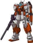 RGM-86RV GM III Semi-Seeker Test colors all weapon