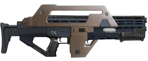 M43a1 Pulse Rifle (Aliens) by RedZaku