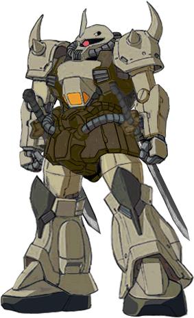 YMS-07D Desert Gouf by RedZaku