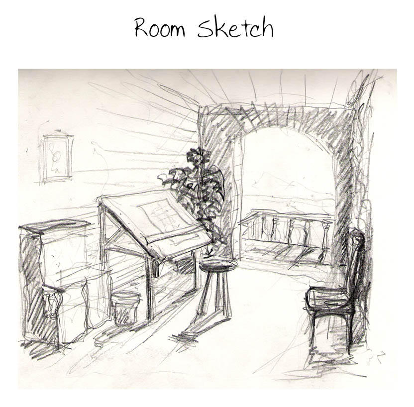 Sketch A Room room sketchgimli131 on deviantart