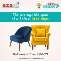 Average Life of a Sofa chair -Azazo -9921