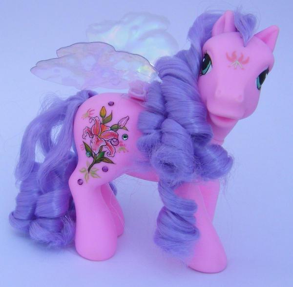 G3 Retro Flutter Pony Lily by eponyart