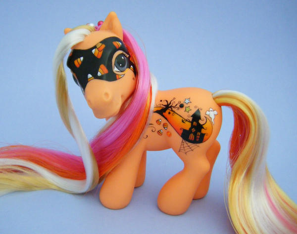 MLP Halloween Custom Pony Hex by eponyart