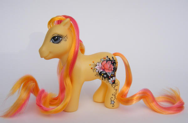 OOAK Custom My Little Pop Pony by eponyart