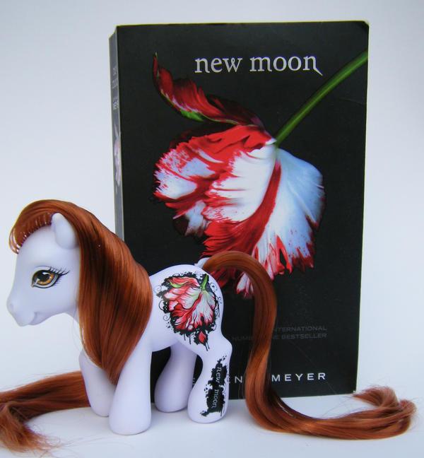 OOAK Twilight MLP New Moon by eponyart