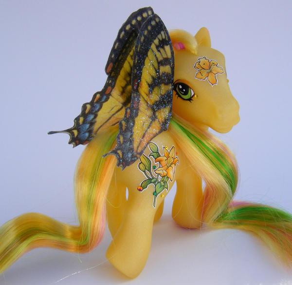 OOAK MLP Flower Fairy Lily by eponyart