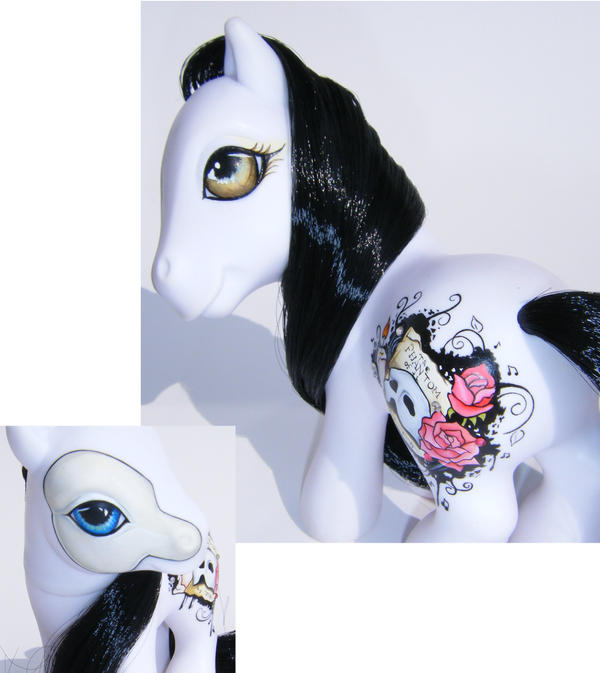 My Little Pony OOAK Phantom by eponyart