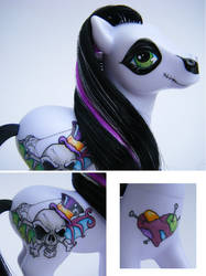 My Little Pony Voodoo Details by eponyart
