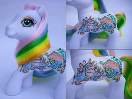 Custom My Little Pony Koi by eponyart