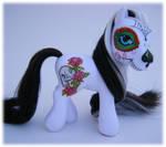 Dia de los Muertos custom pony