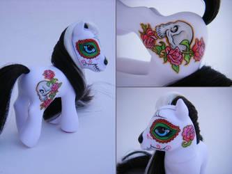 My little pony Dia de los Muer by eponyart