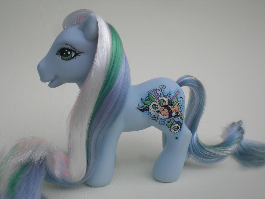 My Little Pony Sushi Time by eponyart