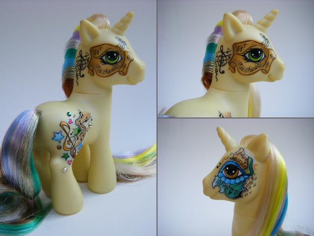 My Little Pony Custom Sonata by eponyart