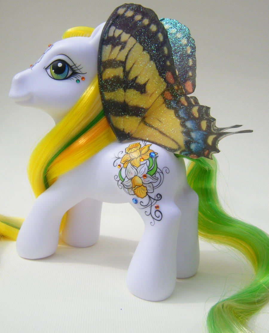 Custom My Little Pony Jonquil by eponyart