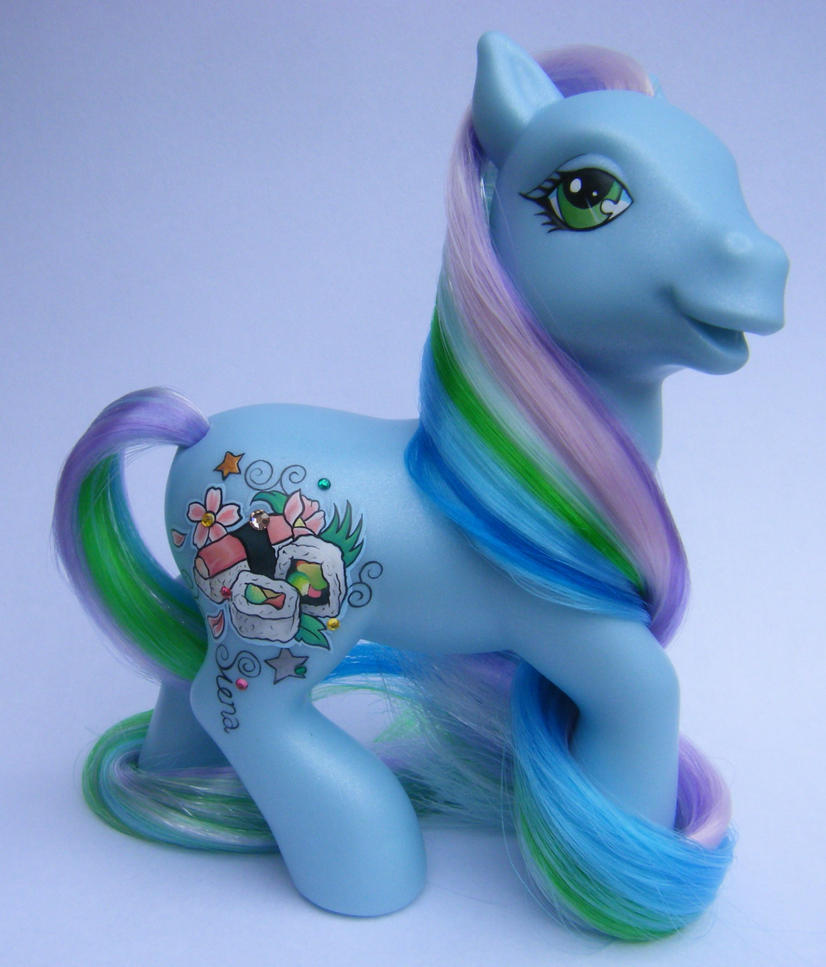 My Little Pony OOAK custom by eponyart