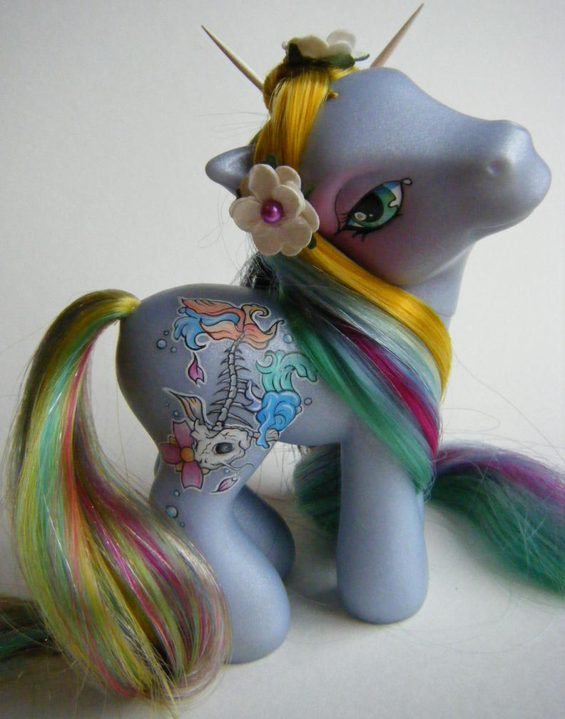 Custom My Little Pony Hikari by eponyart