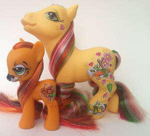 My little pony Tiger lily