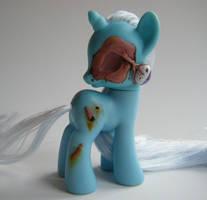 OOAK My Little Pony FiM G4 Zombie Trixie