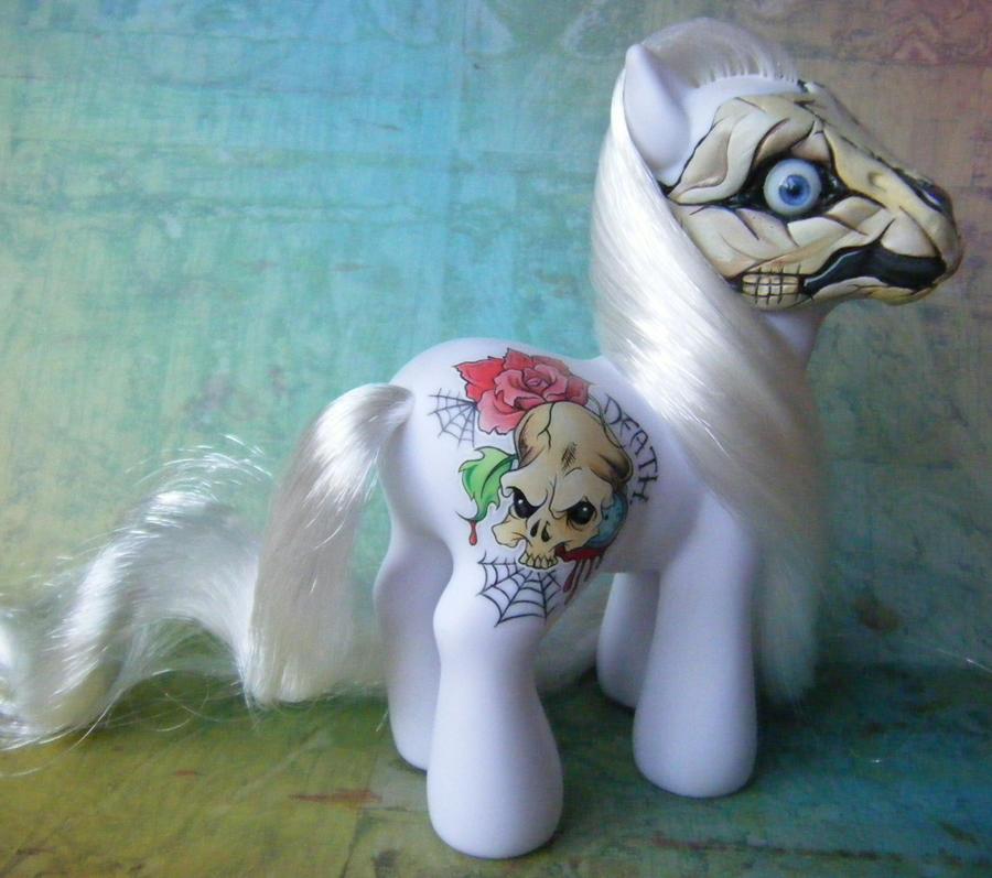 My Little Pony Death (version 1) by eponyart