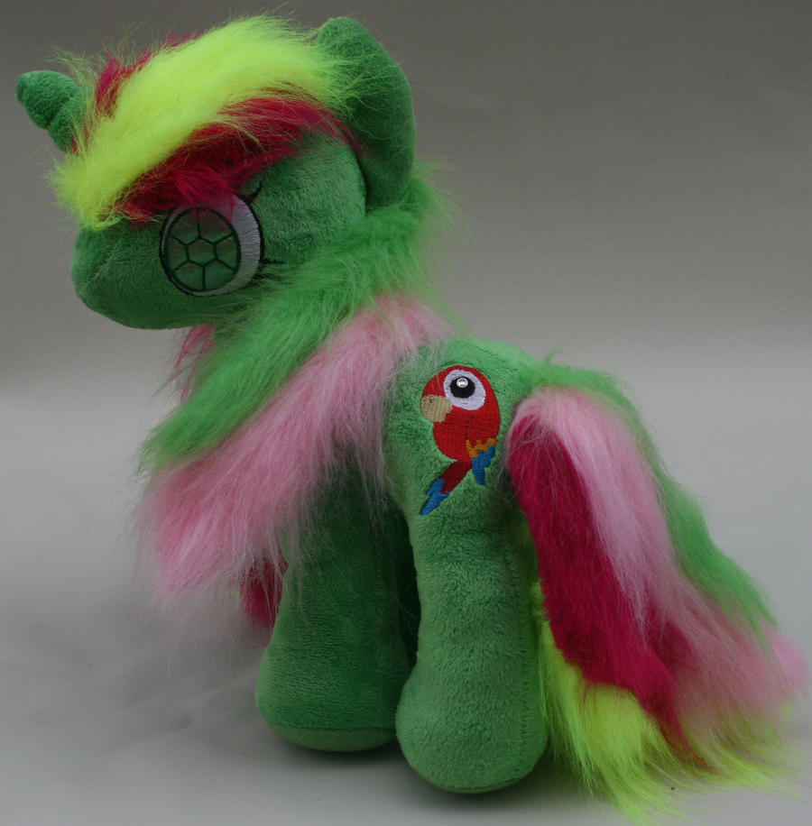 Custom My Little Pony Plush Mimic by eponyart
