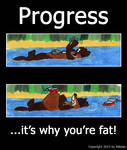 Progress: it's why you're fat!