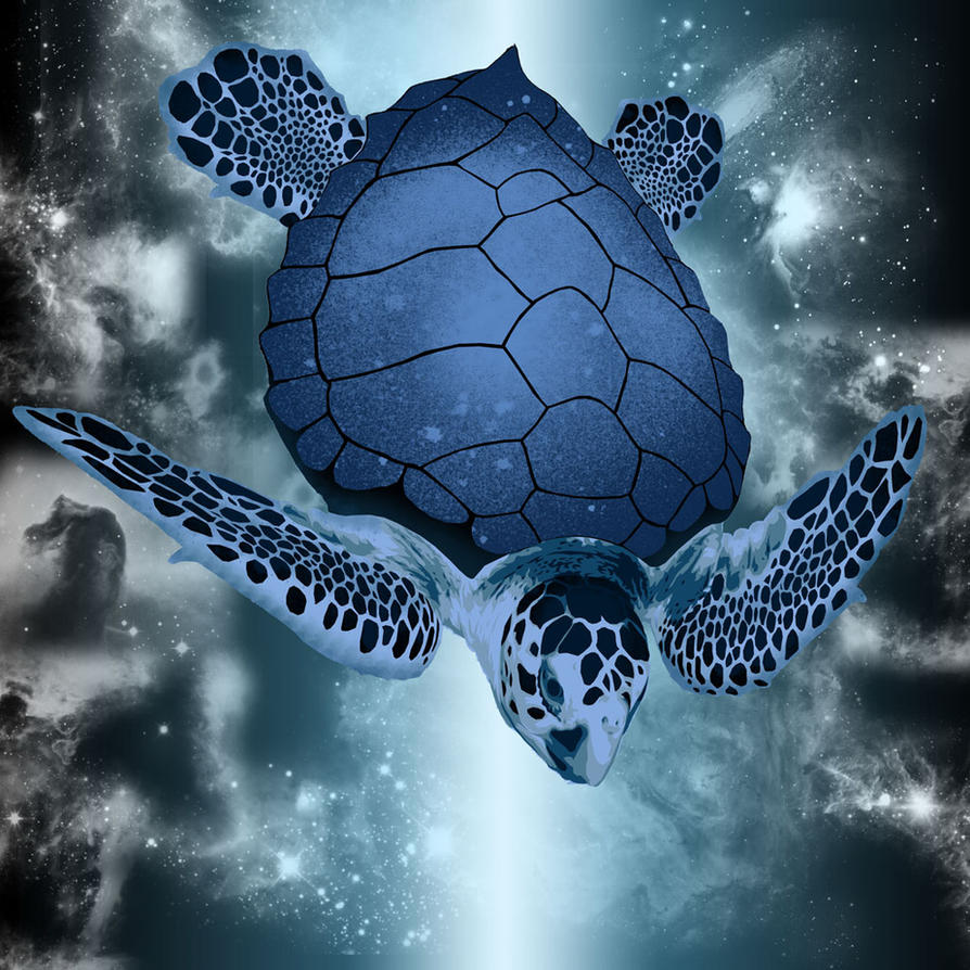 Cosmic Sea Turtle by Gcrackle1