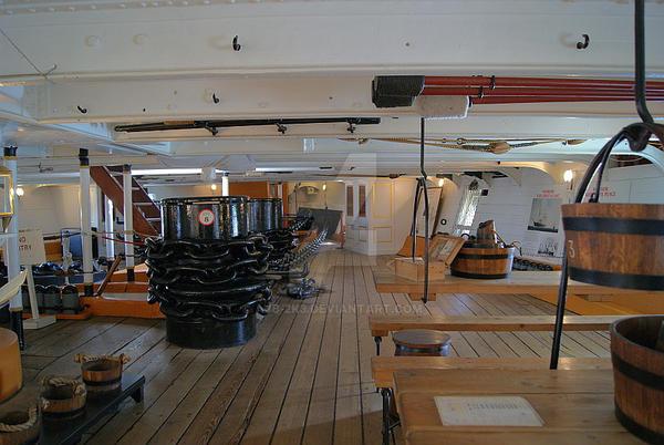 Main Deck of HMS Warrior. by ajb-2k3