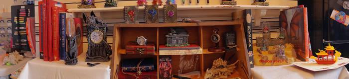 The Desk of a Dragon researcher. by ajb-2k3