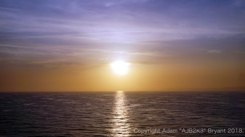 Sunset from Southhampton by ajb-2k3