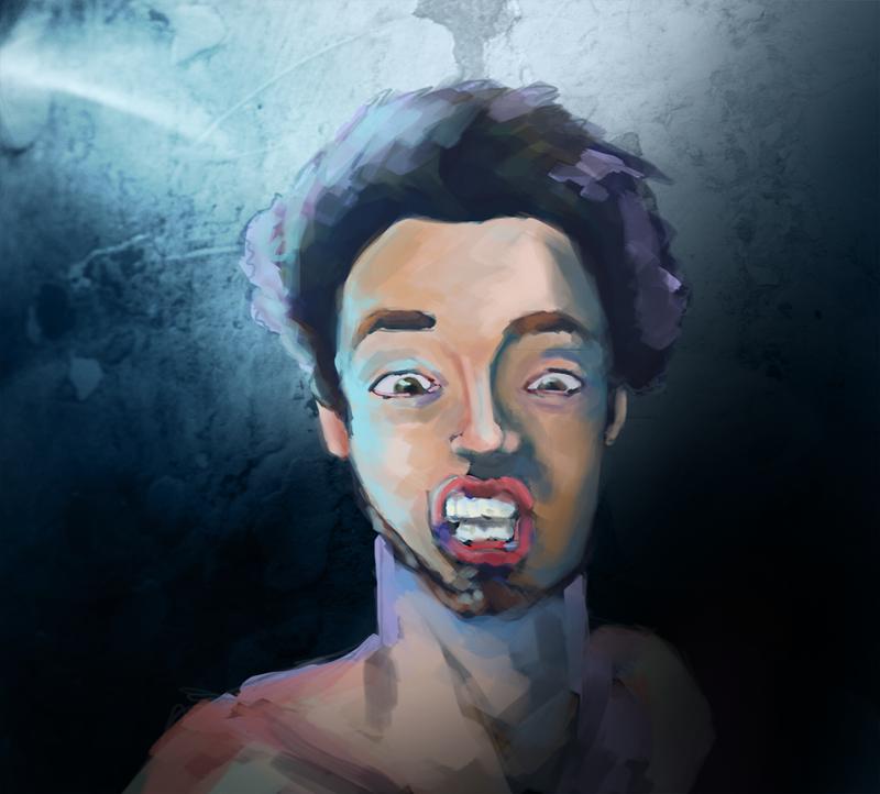 Self Portrait by aPops