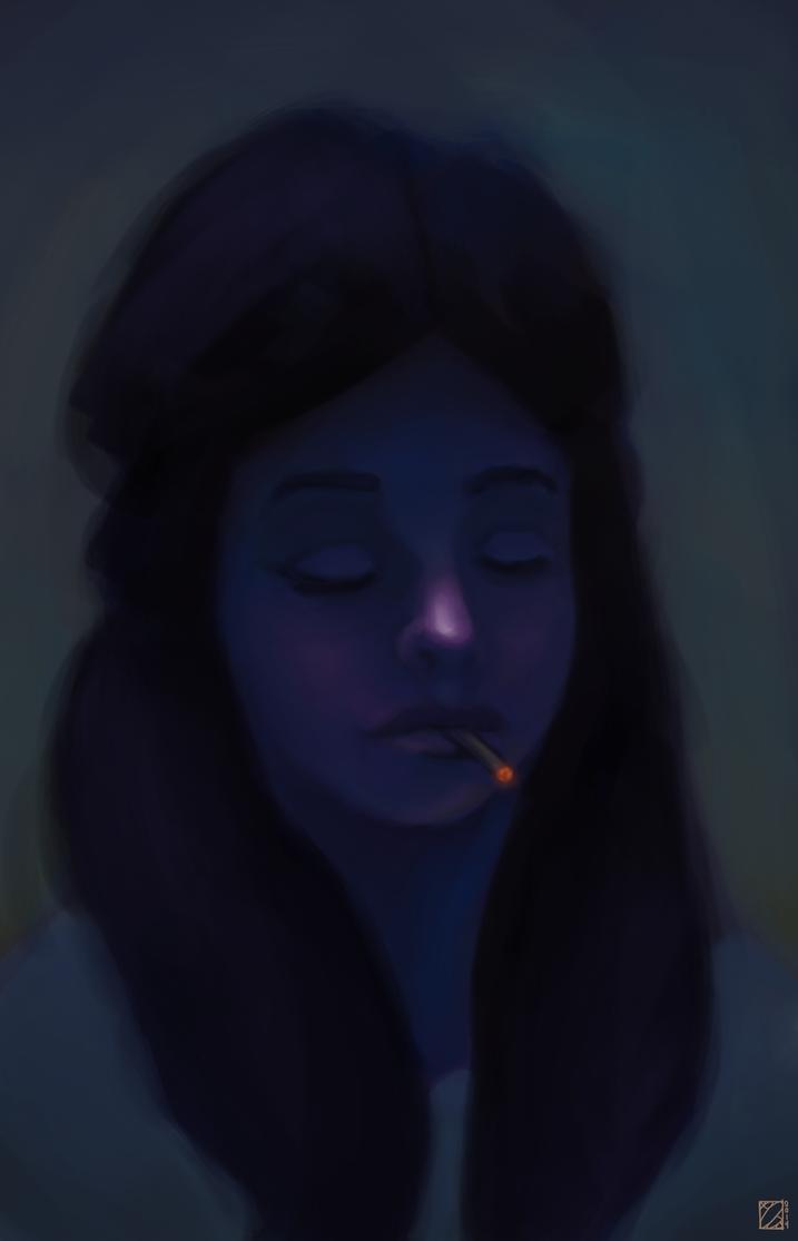 Smoke I by aPops