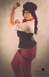 Eloisa Lane (DC Bombshell) by CatleenCosplay