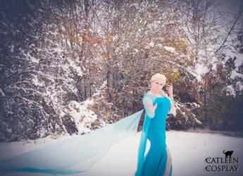Elsa (Frozen) by CatleenCosplay