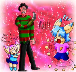 Freddy meets anime