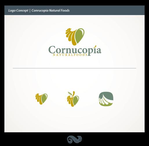 Natural Food Logo Cornucopia Natural Foods Logo